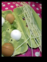 ausgeblasene eier gestalten